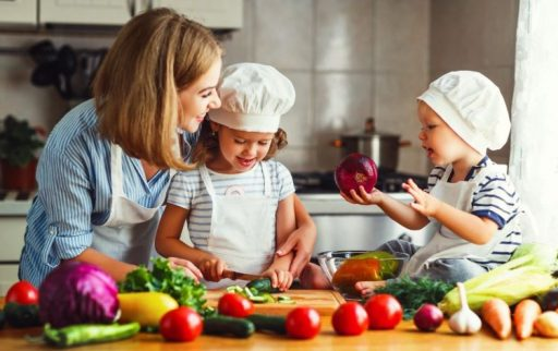 Kinderernährung, Kochen